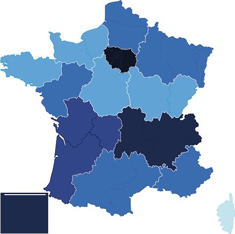 Carte des CRCM